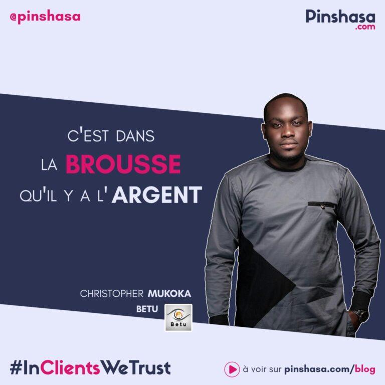 Interview par Pinshasa, de Christopher Jr MUKOKA